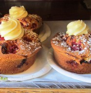 The-Market-Cherry-Sweet-Cheese-Muffin