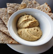 Hummus-Flatbread