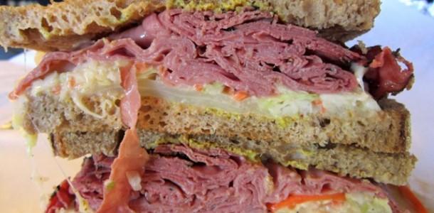 Rosa Reuben sandwich