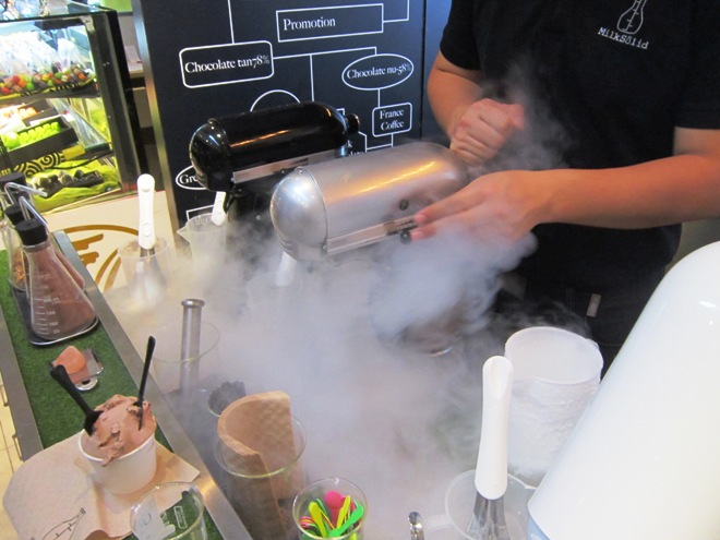 Nitrogen Machine For Ice Cream Liquid Nitrogen Ice Cream