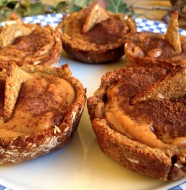 Carob Persimon Pastries
